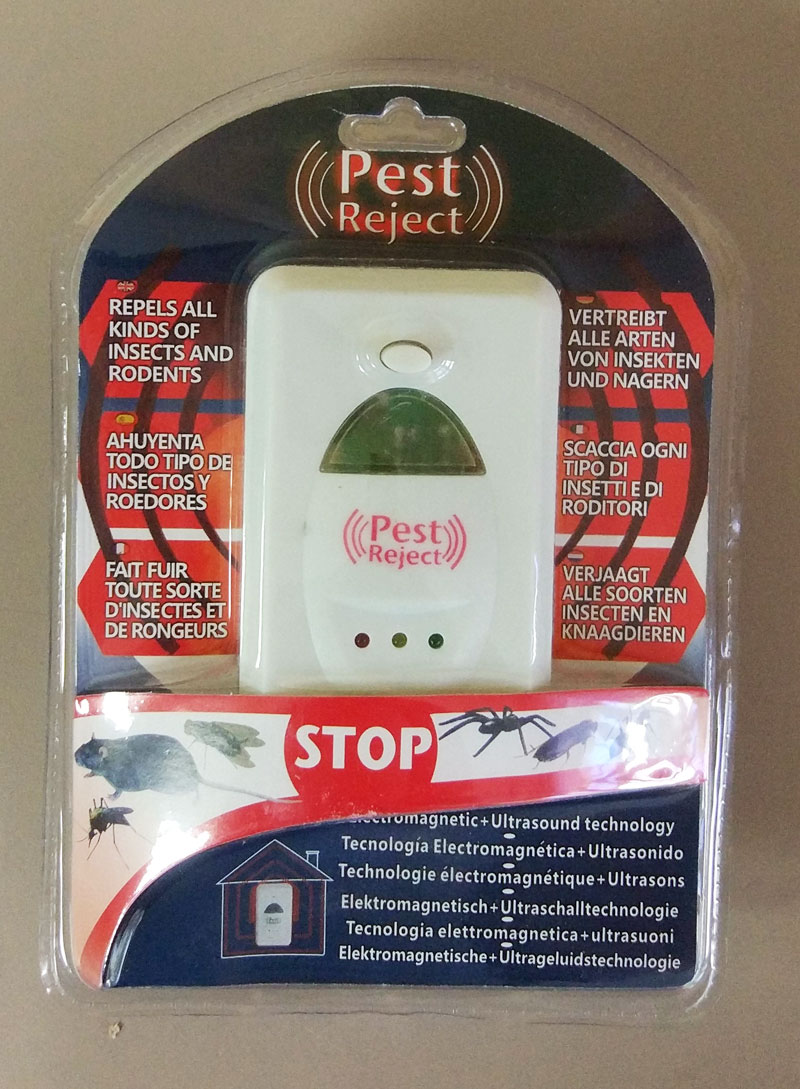 Pest Reject отпугиватель тараканов электромагнитный