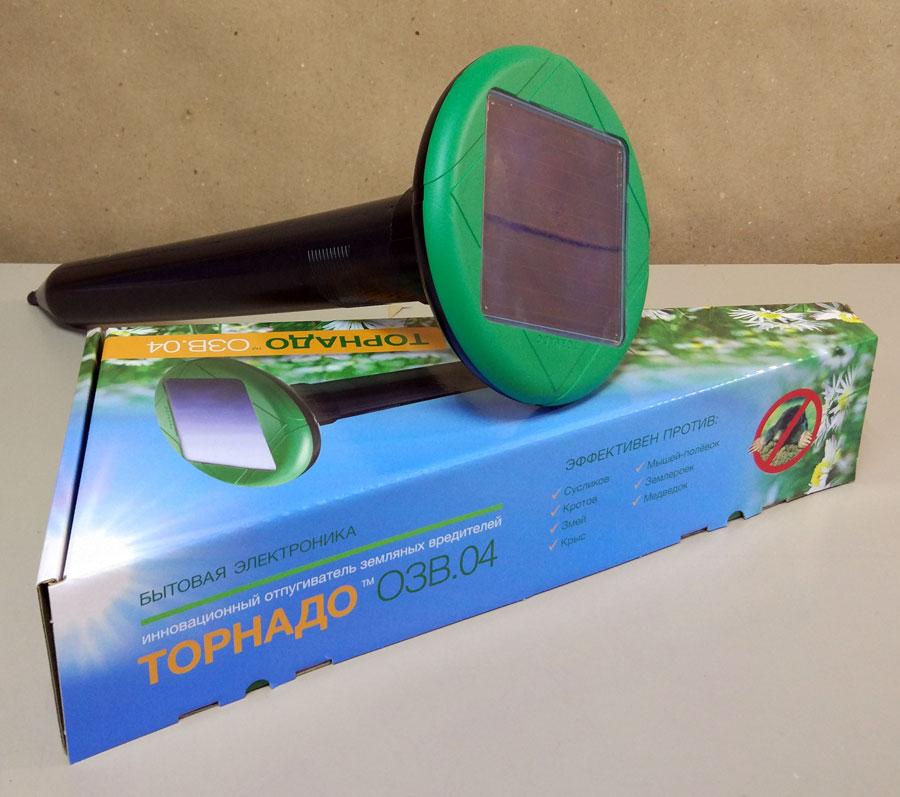 Торнадо ОЗВ.04 - вибрационный отпугиватель кротов